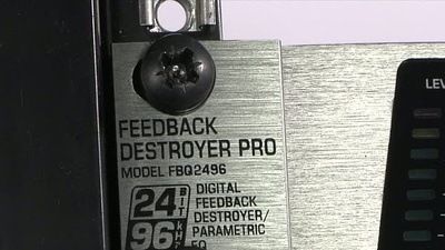 Behringer FBQ 2496 Feedback Destroyer Pro