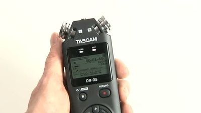 Tascam DR-05 Digitalrecorder