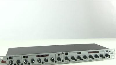 DBX 166 XS: Kompressor/Gate/Limiter