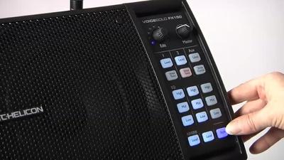 TC Voicesolo FX150 Monitor mit Vocaleffekten