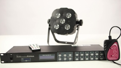 Stairville DR-1 DMX Recorder 19 Zoll SD