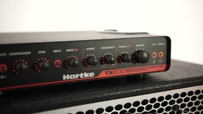 Hartke TX600, Bass Top