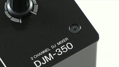 Pioneer DJM-350 2 Kanal DJ-Mixer